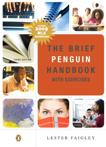 9780205743421: The Brief Penguin Handbook with Exercises: MLA Update (3rd Edition)