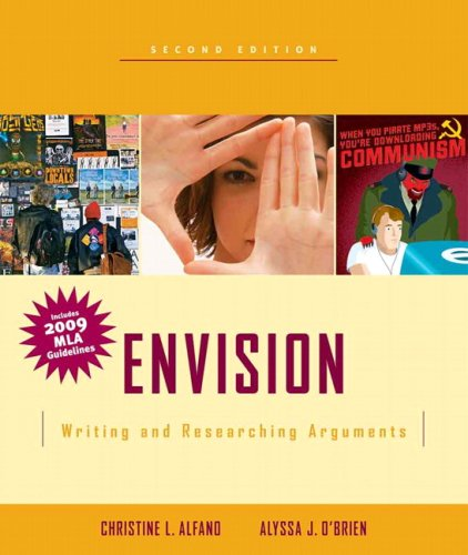 9780205744008: Envision: Writing and Researching Arguments, MLA Update (2nd Edition)