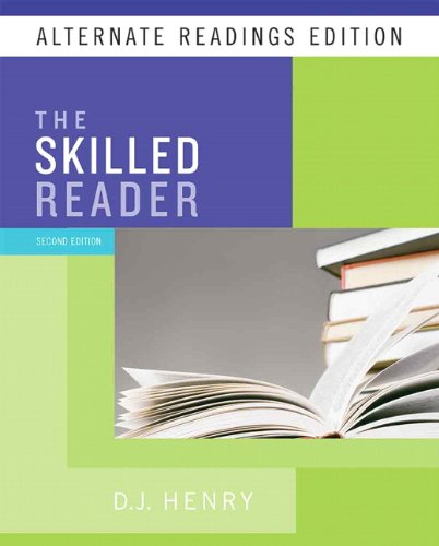 9780205744985: Skilled Reader, The, Alternate Reading Edition (with MyReadingLab Student Access Code Card) (2nd Edition)