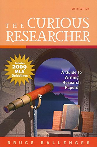 9780205745265: The Curious Researcher, MLA Update Edition (6th Edition)