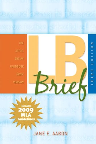 9780205745272: LB Brief,  MLA Update Edition (3rd Edition)