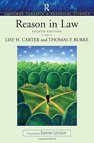 9780205745395: Reason in Law