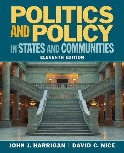 9780205745494: Politics and Policy in States and Communities (11th Edition)