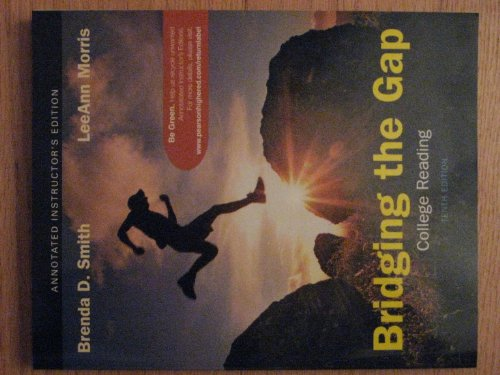 9780205747252: Bridging the Gap (College Reading)