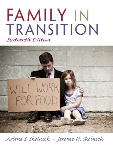 9780205747306: Family in Transition (16th Edition)