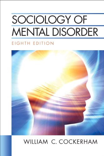 9780205748068: Sociology of Mental Disorder (8th Edition)