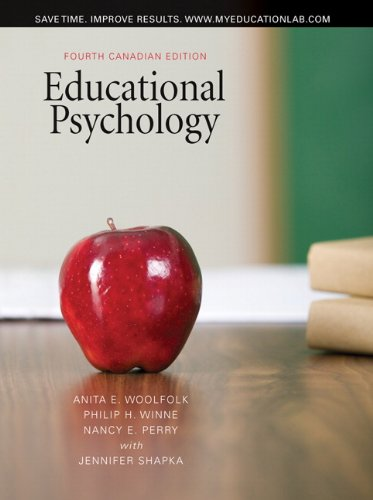 9780205750634: Educational Psychology, Fourth Canadian Edition with MyEducationLab (4th Edition)