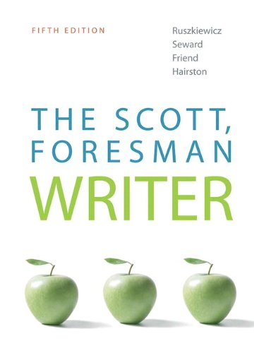 9780205751976: The Scott, Foresman Writer (5th Edition)