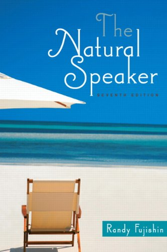 9780205753680: The Natural Speaker (7th Edition)