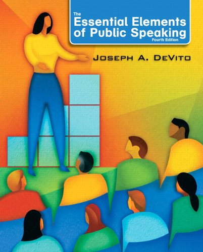 9780205753697: The Essential Elements of Public Speaking (4th Edition)