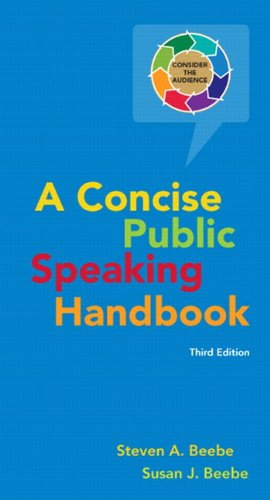 9780205753703: Concise Public Speaking Handbook (3rd Edition)
