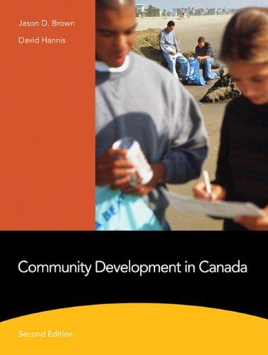 9780205754700: Community Development in Canada (2nd Edition)