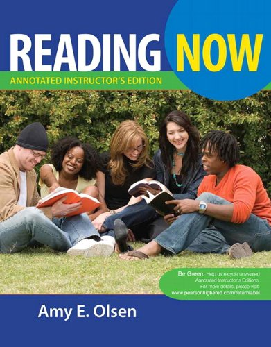 9780205755301: Reading Now - Annoatated Instructor's Edition