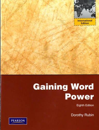 9780205755851: Gaining Word Power
