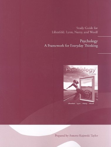 9780205757176: Study Guide for Psychology: A Framework for Everyday Thinking
