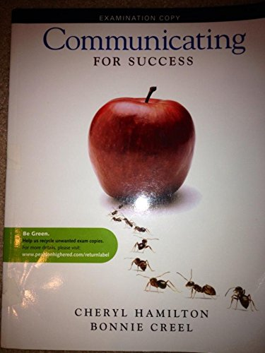 9780205757251: Communicating for Success