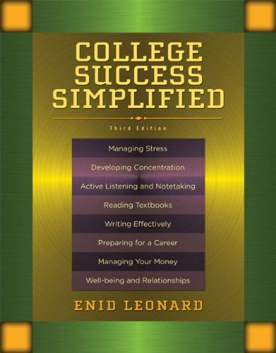 9780205757374: College Success Simplified (3rd Edition)