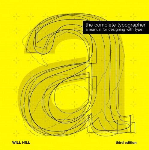 9780205759798: The Complete Typographer (3rd Edition)