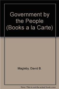 9780205762019: Government by the People, Alternate Edition, 2009 Edition, Books a la Carte Edition (23rd Edition)