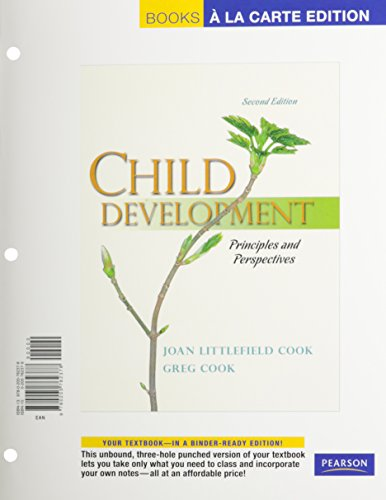 9780205762378: Child Development: Principles and Perspectives, Books a la Carte Edition (2nd Edition)