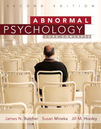 9780205765317: Abnormal Psychology: Core Concepts (2nd Edition)
