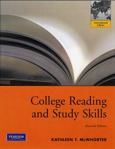 9780205767236: College Reading and Study Skills: International Edition