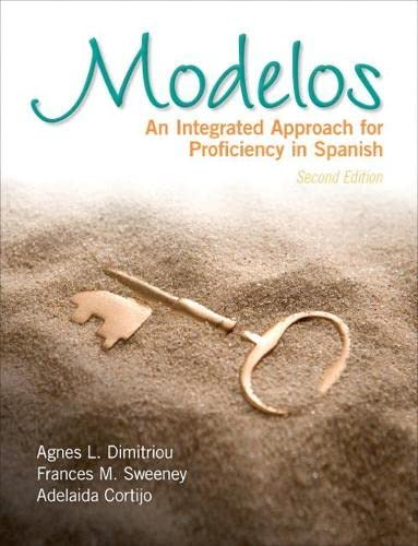 9780205767588: Modelos: An Integrated Approach for Proficiency in Spanish