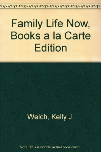 9780205768646: Family Life Now, Books a la Carte Edition (2nd Edition)