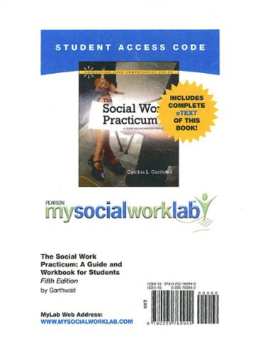 9780205769940: MySocialWorkLab with Pearson eText -- Standalone Access Card -- for The Social Work Practicum: A Guide and Workbook for Students (5th Edition) (Mysocialworklab (Access Codes))