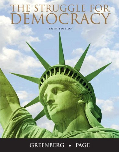 9780205771295: The Struggle for Democracy (10th Edition)