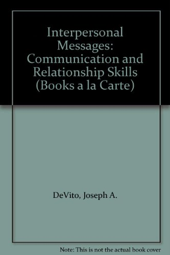 Messages The Communication Skills Book