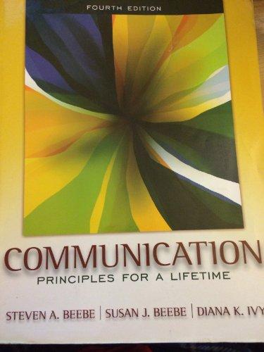 9780205772469: Communication: Principles for a Lifetime, Books a la Carte Plus MyCommunicationLab (4th Edition)