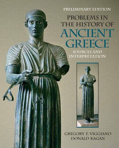 9780205772940: Prelimary Edition for Problems in the History of Ancient Greece: Sources and Intrepretation