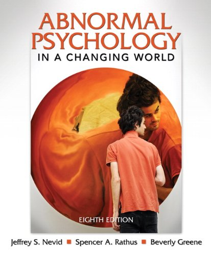 9780205773404: Abnormal Psychology in a Changing World (8th Edition)