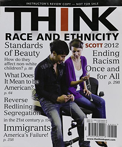9780205773732: THINK Race and Ethnicity