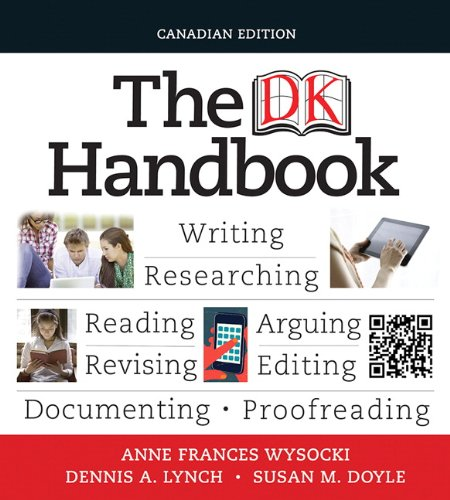 9780205776177: The DK Handbook, First Canadian Edition