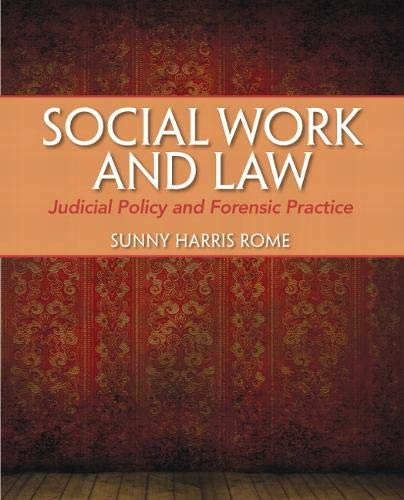 9780205776894: Social Work and Law: Judicial Policy and Forensic Practice