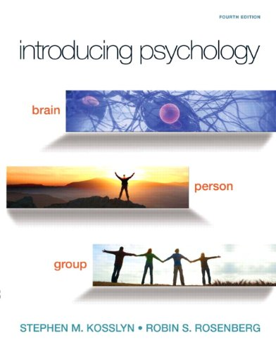 9780205777167: Introducing Psychology: Brain, Person, Group