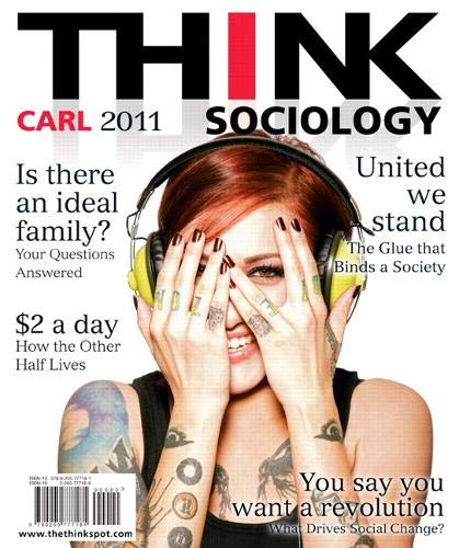 9780205777181: THINK Sociology