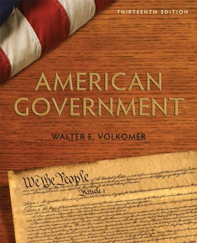 9780205778386: American Government (13th Edition)