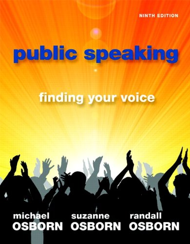 9780205778447: Public Speaking: Finding Your Voice (9th Edition)