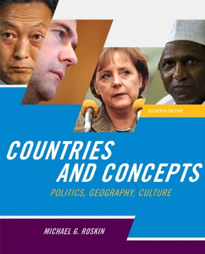 9780205778720: Countries and Concepts: Politics, Geography, Culture