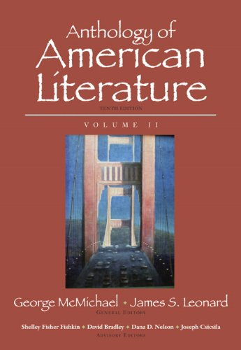 9780205779369: Anthology of American Literature, Volume II (10th Edition)