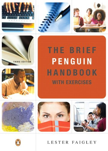 9780205779406: Brief Penguin Handbook with Exercises, The (with Pearson Guide to the 2008 MLA Updates) (3rd Edition)