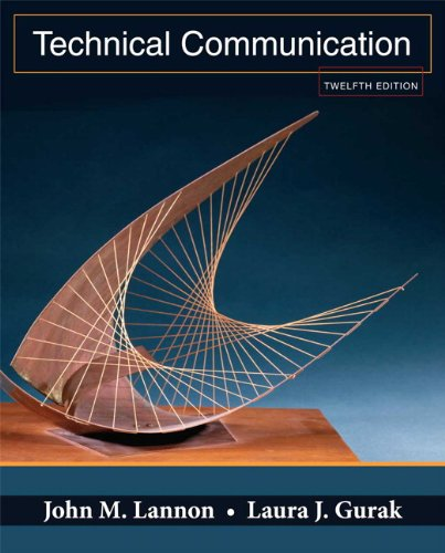 Technical communication, books a la carte edition (12th edition.
