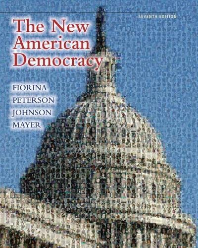 9780205780167: The New American Democracy (7th Edition)