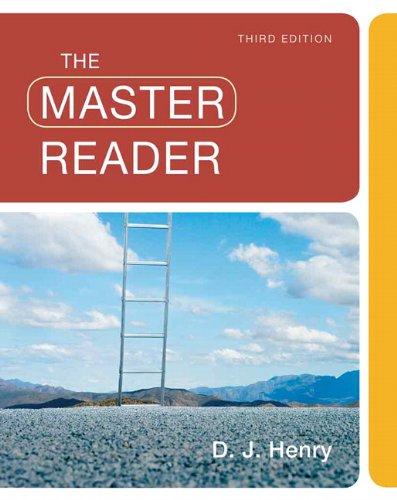 9780205780860: The Master Reader (3rd Edition)
