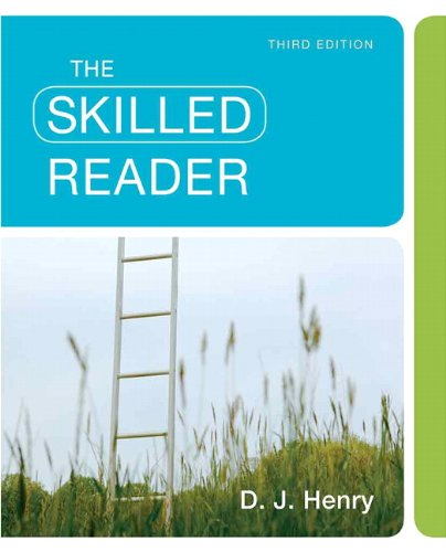 9780205780877: The Skilled Reader (3rd Edition)