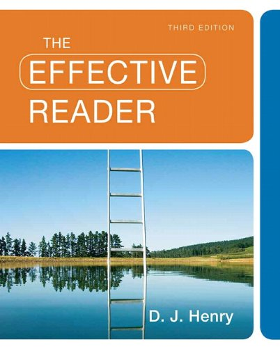 9780205780884: The Effective Reader (3rd Edition)