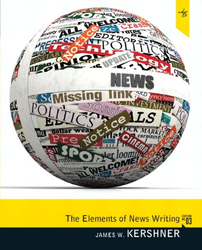 9780205781126: Elements of News Writing (3rd Edition)